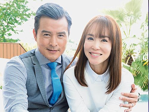 李銘順與范文芳相隔多年再合作演戲,兩人受訪時互動相當有趣。