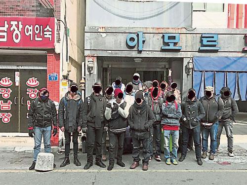 據指有多達5000大馬人在韓國跳飛機,這只是其中一部分人,他們多是被高薪吸引而冒險到韓國當黑工。