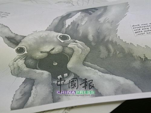 這是馬克斯的下一本繪本作品,故事以誰偷走了小松鼠的果子為主軸。