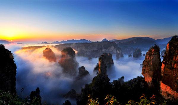 美如仙境的景點,在GD繽紛亞洲之旅配套中,輕易套住不少人的心。