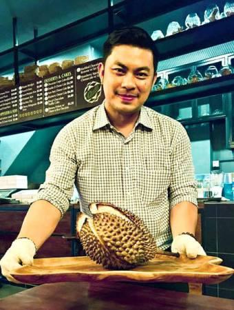 咖啡廳負責掌廚的黃勇賢是合夥人之一。(取自面子書)