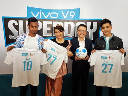 Vivo馬來西亞連同代言人陪你一起迎接2018 FIFA世界杯的到來!
