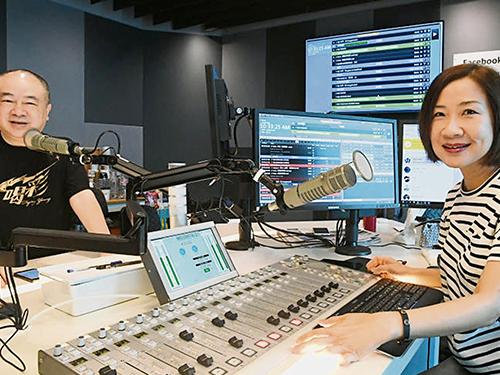 高志森昨早上安娜的節目。