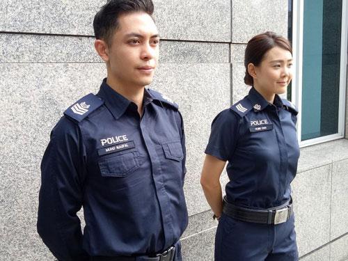 執勤警員的新制服。