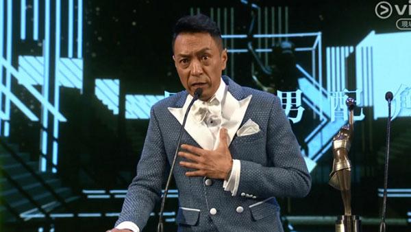 姜皓文今屆獨攬最佳男配角兩項提名,最終憑《拆彈專家》首奪金像男配角!