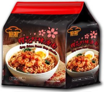 2、Red chef櫻花蝦辣湯麵(馬來西亞)