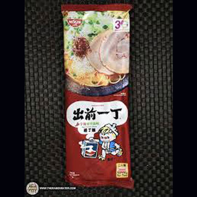 9、出前一丁辛辣豬骨湯味棒丁面(香港)
