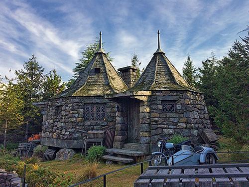 海格小屋。
