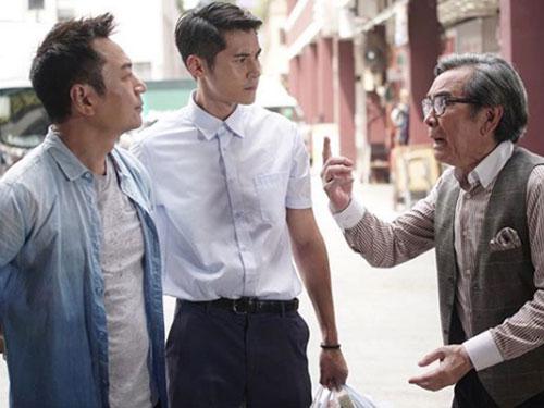 陳家樂在《逆緣》中飾演一名40年代的冷凍人,是姜大衛的父親,黎耀祥的爺爺。