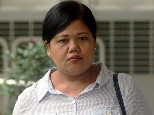 涉案印尼女傭莉雅妮。(《海峽時報》)