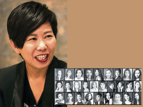 洪愛玲創辦的飛藝娛樂旗下有眾多女藝人,包括模兒和網紅。
