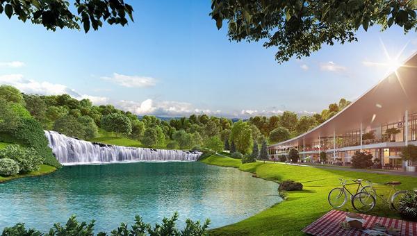 清澈的湖泊與綠茵盎然的環境,令人心曠神怡。