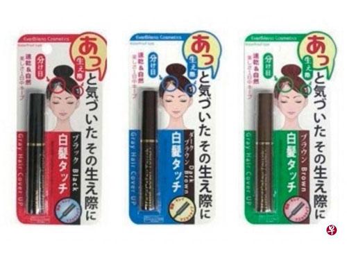 受影響的3款染髮產品。