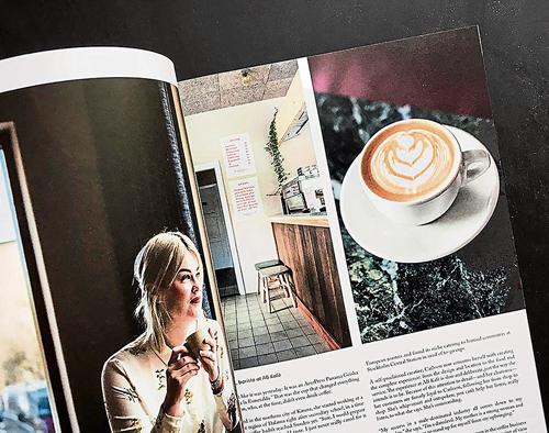 《Drift》是一本來自紐約的獨立咖啡半年刊,編輯團隊希望可以盡可能的整理出精品咖啡的脈絡。