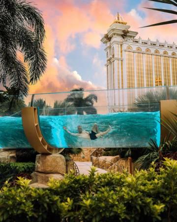 無限刺激的空中激流、滑水天梯等,遊客可以盡情享受令人興奮的度假體驗。