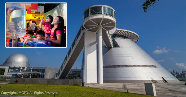 """來到澳門,可不能錯過""""全球最高解像度的立體天文館"""",你可以帶著孩子一邊學習,一邊玩樂,是親子游的好去處。"""