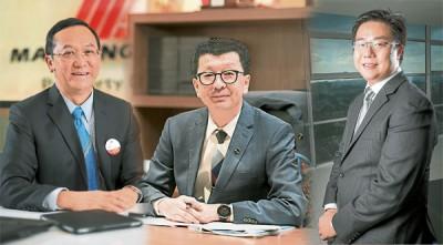 (左起)梁海金、林福山和林保億