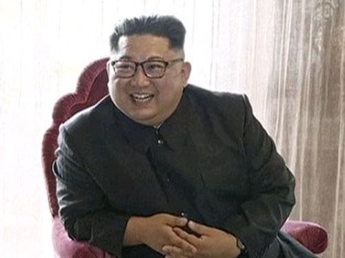 朝鮮領導人金正恩。(美聯社)