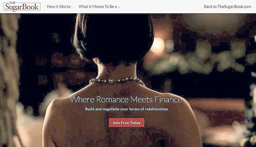 """""""糖書""""的標語便是""""金錢換愛情"""",吸引了大批20余歲的女大學生、單身職業女性及30余歲事業有成的企業家註冊成為會員。"""