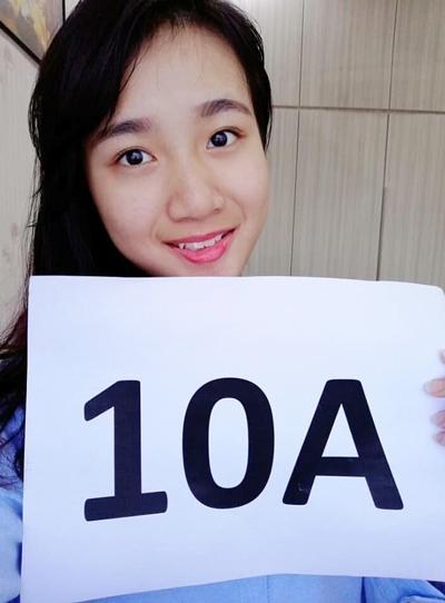 蔡咏琪在大馬教育文憑考試考獲10A佳績,不僅會唱歌,也是一名學霸。