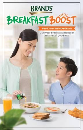 媽媽給孩子準備一天之中最重要的一餐,可從BRAND'S雞精開始。
