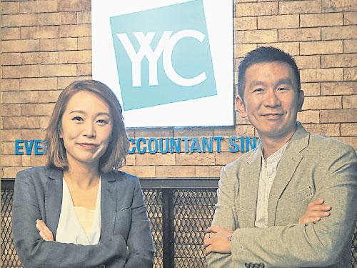 葉欣向(左)和龔銘恩認為,企業要長遠發展,先要確保合夥人保持長遠且良好的關係。