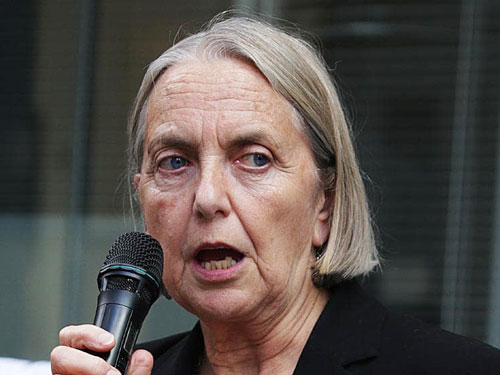 澳洲綠黨參議員莉雷亞農。