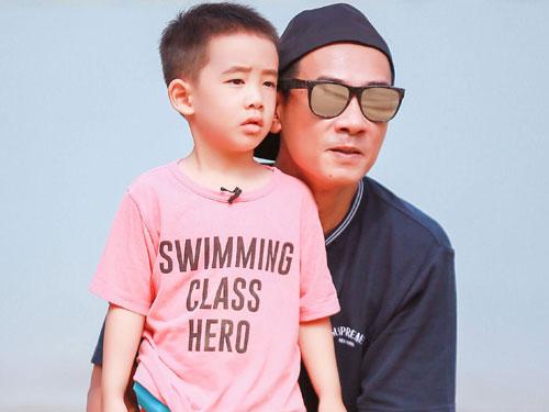 陳小春去年曾帶著Jasper上《爸爸去哪兒5》。
