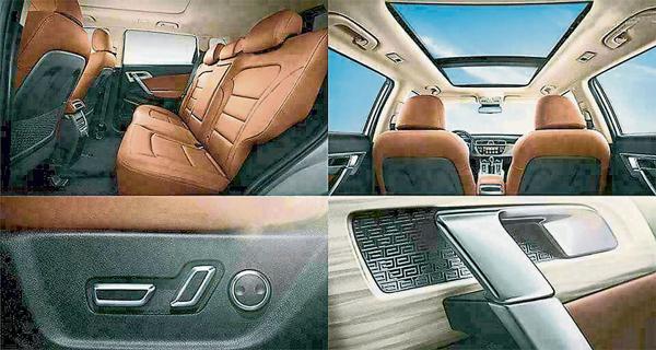 運動型休旅車配備高級功能,包括聲控系統及360°隨動3D全景影像。