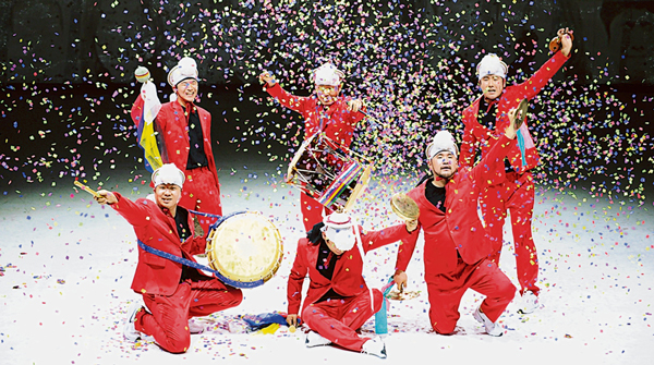 →U-Hee Company(韓國傳統四物農樂打擊樂團)