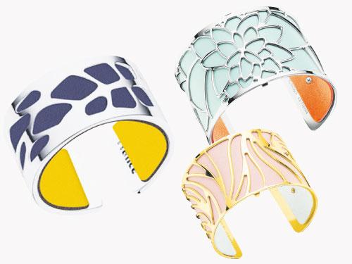 手鐲具有18個設計、6個尺寸以及6種質感供選擇,再加上無數的色彩皮革,讓你隨時作出即時變身。