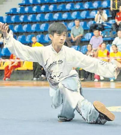郭靖是吉隆坡武術男子好手之一。