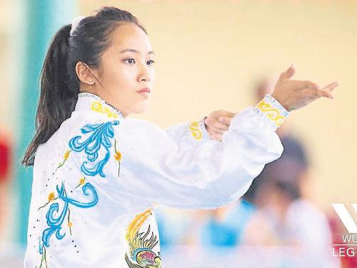 侯昱瑩是隆武總重點栽培的女選手。