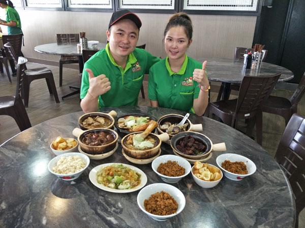 滿香不只是巴生傳統肉骨茶那麼簡單,還有阿寶與妻子咏琴的拿手佳餚等你來嘗一嘗!
