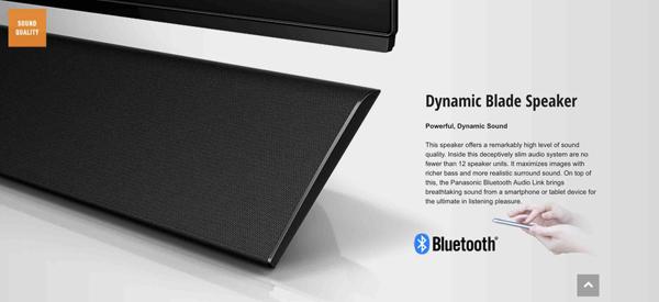 Panasonic OLED TV智能型電視提供多種上網功能。