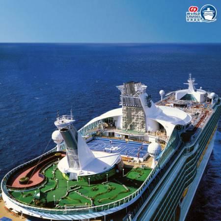 登上皇家加勒比國際郵輪海洋航行者號,與星馬群星來一場從頭笑到尾的旅程。