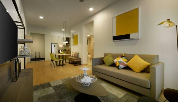 採用開放式的設計概念,為住戶提供更為寬闊及實用的面積。