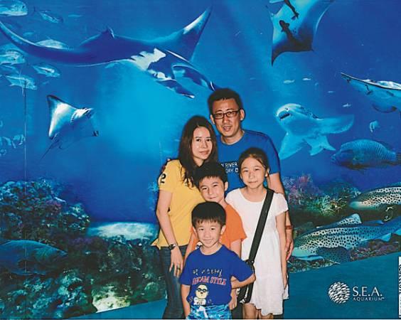 有強大包容心的老公,讓黃仕齡擁有幸福美滿家庭。