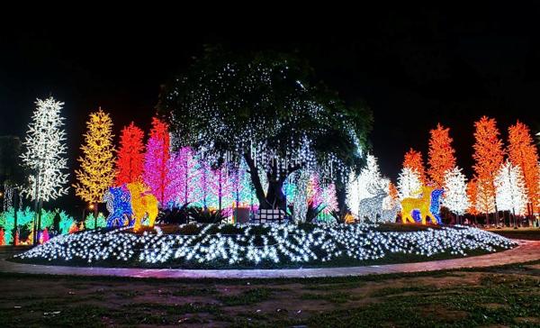 璀璨的七彩燈光,帶你進入花花世界。