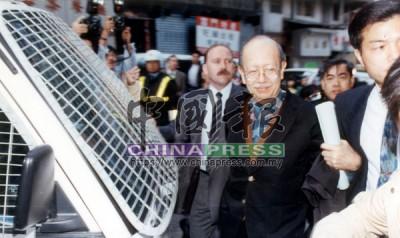羅連奧斯曼被引渡回香港面審,吸引大批媒體到場採訪。