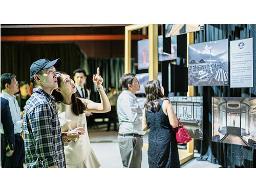 位于Aberlour的麦卡伦新酒厂落成,共花费1.4亿英镑,耗费3年6个月时间才正式建造完成,会场上设计详尽的图展介绍,让宾客慢慢了解欣赏。