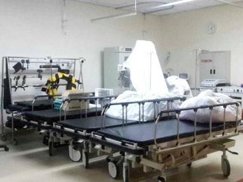 手術室無法使用,導致總值139萬令吉的器材也就無用武之地。