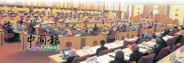 霹靂州第14屆第一季第2次州議會會議,于週二邁入第2天。