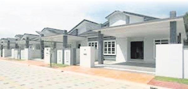 霹州政府設下目標,要在全州興建5萬所「我的霹靂房屋計劃」屋子。(圖自网絡)