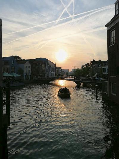 荷蘭的夕陽無限好,因為夕陽時間多達兩小時。