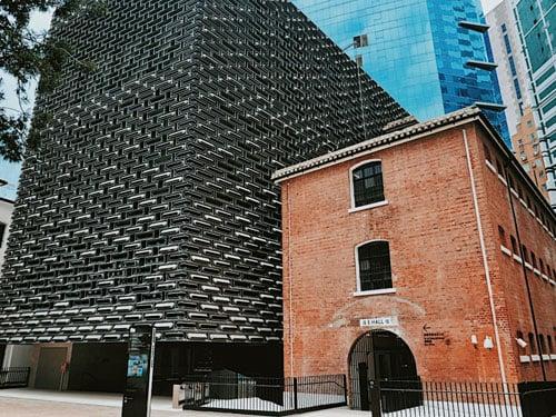由北京鳥巢建築師設計的當代美術館。
