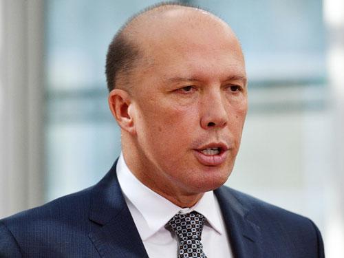 澳洲內政部長達頓。