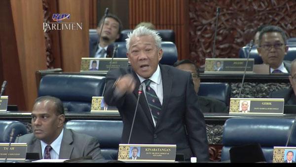 邦莫達本月7日在下議院議會廳內爆粗。