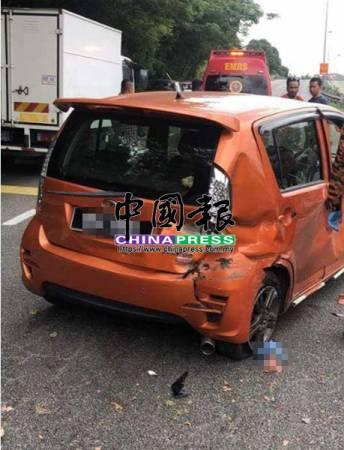 死者誤踩油門,導致車失控打轉,造成她被拋出車外慘死。