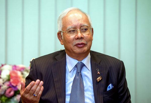 前首相納吉